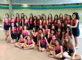 Intenso y fruct�fero fin de semana para nuestras chicas de nataci�n sincronizada