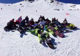 Un grupo de 30 personas participaron en un viaje a Sierra Nevada