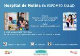 El Hospital de Molina promueve la salud en Expomed Salud