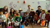 Los niños de la Escuela Infantil de El Mirador se convierten en agricultores de 'la huerta de Europa'