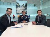 El Coronel Director de la Academia General del Aire mantiene un encuentro con el Alcalde de Torre Pacheco