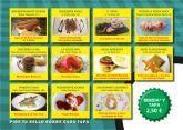 11 establecimientos ofrecen sus mejores aperitivos en la Ruta de la Tapa de Puerto de Mazarrón