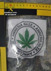 La Guardia Civil detiene in fraganti a los cuatro miembros de una organización mientras cargaban un camión con marihuana en Lorquí