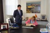 La consejera de Educación confirma en San Javier la ampliación en 2017 del IES Mar Menor