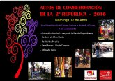 El pr�ximo domingo se inician los actos del D�a de la Rep�blica en Alhama