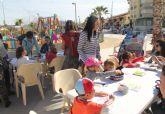 La Biblioteca Municipal sale al parque para fomentar la lectura entre los niños