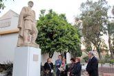 Continúan las actividades conmemorativas del 50 Aniversario del Museo de la Huerta de Alcantarilla, con una Velada Trovera y el descubrimiento de una placa en la escultura de El Huertano
