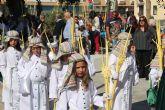 San Pedro del Pinatar celebra el Domingo de Ramos con la procesión de Las Palmas y Jesús Triunfante