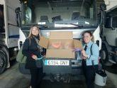 Solidaridad en Alhama de Murcia con los trabajadores de recogida de R.S.U y limpieza viaria de FCC Medio Ambiente