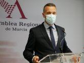 Joaquín Segado: 'Exigimos al PSOE y a Sánchez que dejen en paz a la Región y no jueguen con los murcianos para sus fines políticos'