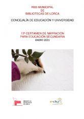La 13° edición del Certamen de Narración para Educación Secundaria 'Premios Ángeles Pascual', organizado por la Red Municipal de Bibliotecas, ya tiene ganadores
