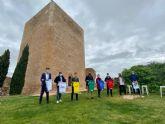 Este fin de semana se celebra la Vuelta Ciclista al Guadalentín-Región de Murcia, con salida y llegada en el Castillo de Lorca el domingo 18 de abril