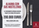 El Ayuntamiento lanza nuevas ayudas para hosteler�a por valor de 200.000 euros