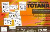 La Conferencia 'Experta' sobre Altas Habilidades tendrá lugar mañana 1 de junio en el Centro Sociocultural de la Cárcel