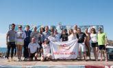 El consejero de Turismo, Cultura y Medio Ambiente entrega los premios de la I Traves�a a nado de �La isla Fun Fest�