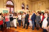 Perla Fuertes inaugura su exposici�n �Caja de agua II� en el Real Casino de Murcia