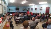 José Rafael Rocamora pide el voto a los vecinos y vecinas del Barrio de San Antonio para que Cehegín continúe avanzando