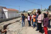 Una nueva glorieta mejorará la seguridad en la vía que une el núcleo urbano de Puerto Lumbreras con La Estación- El Esparragal