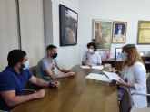 Ayuntamiento y Asociación 'Amigos de la Música' renuevan el convenio de colaboración para fomentar la cultura musical en Puerto Lumbreras