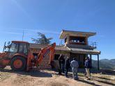 Invierten más de 108.000 euros en mejoras del puesto de vigilancia forestal de La Rogativa
