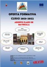 Abierto el plazo de matr�cula para el curso 2021-2022 en el Centro de Educaci�n de Adultos del Bajo Guadalent�n