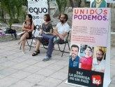 La creación de empleo y la protección social, prioridades para Unidos Podemos