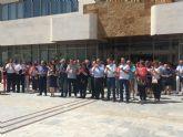 Día de luto oficial y minuto de silencio en San Javier por la muerte de Manuel Leal, que fue concejal del Ayuntamiento
