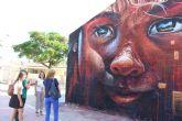 Grandes murales decoran el colegio Los Antolinos gracias a la iniciativa #PintaUnColeNuevo
