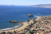 Seis banderas Q certifican la calidad turística de las playas de Mazarrón