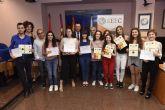 La Universidad de Murcia premia a los ganadores de las Olimpíadas de Lenguas Clásicas
