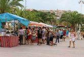 El Mercado Artesano de Puerto de Mazarr�n estrena horario de verano 2019