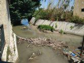 El mal estado de la acequia mayor Alquibla en el Molino de Oliver no es compatible con la Ley de Patrimonio Cultural