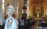 Este año el Santísimo no ha salido en procesión en la celebración del Corpus Christi