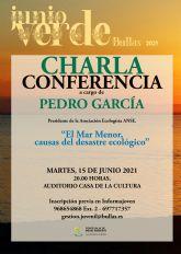 Charla 'El Mar Menor, causas del desastre ecológico'