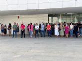 Concentración silenciosa frente al Ayuntamiento de Torre Pacheco contra la violencia machista