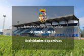 Se inicia el procedimiento de concesión de subvenciones para actividades deportivas