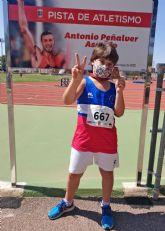 Lluvia de medallas para el Club Atletismo Las Torres en el regional de categorías base