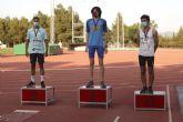 Tres metales para los atletas del Club Atletismo Alhama en el