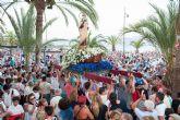 Misa marinera, procesi�n y moraga para celebrar el d�a de la Virgen del Carmen