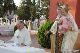 """Tradicional Misa en el Cementerio Municipal de Totana """"Nuestra Sra. del Carmen"""" con motivo de la festividad de la Virgen del Carmen"""