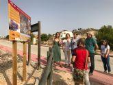 Medio Ambiente invierte más de 33.000 euros en acondicionar y señalizar el sendero del paraje protegido de Rambla Salada