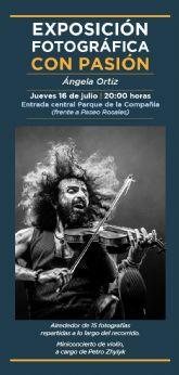 La exposición Con Pasión de Ángela Ortiz cierra el programa CULTURA EN COMPAÑIA de Molina de Segura el jueves 16 de julio
