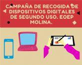 El Ayuntamiento se suma a una campaña de recogida de dispositivos digitales para su uso escolar