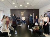 El alcalde, José Miguel  Luengo se reúne con los directores de los colegios del municipio para abordar la despedida del curso y preparar el siguiente, ambos marcos por la pandemia