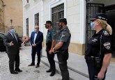 Pascual Lucas solicita al delegado del Gobierno agentes de guardia civil para reforzar la seguridad