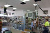 El Ayuntamiento reduce el consumo eléctrico con la instalación de LED en la biblioteca municipal