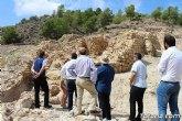 Ciudadanos reitera su apoyo a la preservación y puesta en valor de nuestro patrimonio durante su visita al yacimiento argárico de La Bastida en Totana