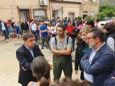 El Ministro de Agricultura en funciones ha visitado hoy sábado las zonas afectadas por las inundaciones en Molina de Segura