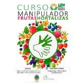 La concejalía de Agricultura programa un 'Curso de Manipulador de Frutas y Hortalizas'