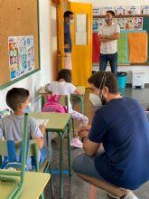 Alumnos y alumnas de Educación Infantil, Primaria y Secundaria de Torre Pacheco vuelven a las clases presenciales